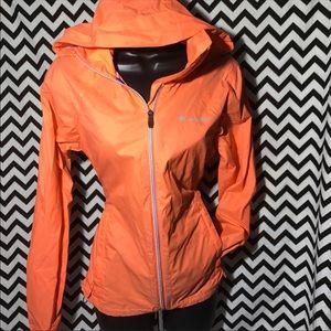 Columbia rain jacket sz S